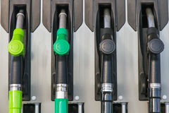 Free Fuel Pumps Or Dispensers In Gas Stock Photography - 77477682