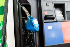 Fuel pumps Royalty Free Stock Photo