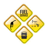 Fuel Service Royalty Free Stock Photos