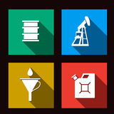 Fuel set icons illustration Stock Photo