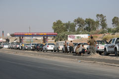 Fuel shortage Royalty Free Stock Photo