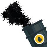 Fuel splash design Stock Image