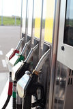 Fuel station. Petrol diesel and fuel station royalty free stock photos