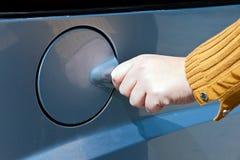 Fuel station Stock Photo