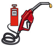 Fuel station Stock Photography