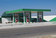 Fuel station in Iraq Royalty Free Stock Image