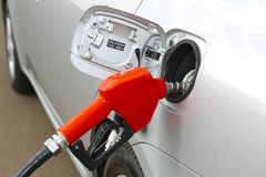 Fuel Station Nozzle Royalty Free Stock Image