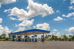 Fuel station. Royalty Free Stock Photos