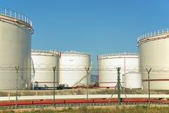 Fuel Storage Plant Royalty Free Stock Photos