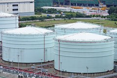 Fuel Storage tank Royalty Free Stock Photo