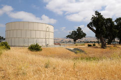 Fuel storage tank Stock Image