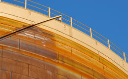 Fuel storage tank Stock Images