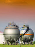 Fuel Storage Tank. In texas Royalty Free Stock Photography