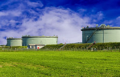 Fuel Storage Tanks. Stock Image