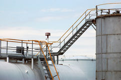 Fuel storage tanks Stock Images