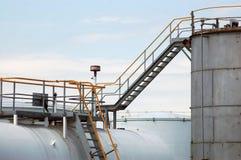 Fuel storage tanks Stock Images