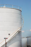 Fuel storage tanks Stock Photos