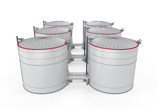 Fuel Storage Royalty Free Stock Image