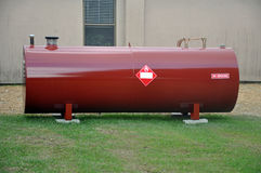Fuel Tank. Above Ground fuel tank holding diesel fuel royalty free stock photography