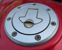 Fuel Tank Cover Royalty Free Stock Photography