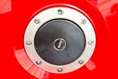 Fuel Tank Door Royalty Free Stock Photo