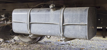 Fuel tank truck Stock Photo