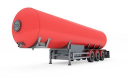 Fuel Tanker Royalty Free Stock Photo