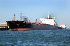 Fuel tanker Lumen N alongside Stock Photography