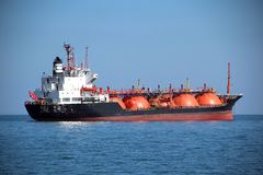 Fuel tanker Stock Images