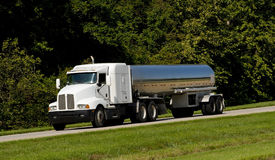 Fuel Tanker Transport Truck Royalty Free Stock Photos