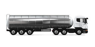 Fuel Tanker Truck Stock Image