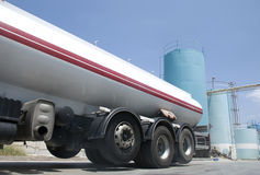 Fuel tanker Stock Image