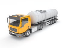 Fuel Tanker Royalty Free Stock Images