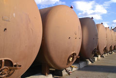Fuel tanks Royalty Free Stock Photos