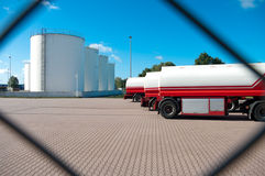 Fuel tanks Stock Photography