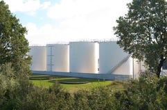 Fuel tanks Royalty Free Stock Photos