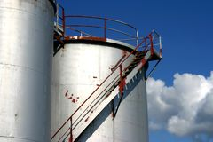 Fuel tanks Stock Images