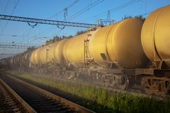 Fuel tanks Stock Photography