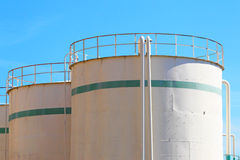 Fuel Tanks Royalty Free Stock Photo