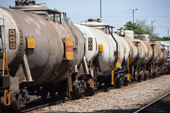 Fuel train Stock Photography