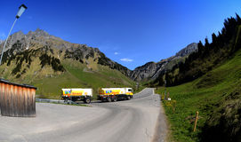 Fuel transport Royalty Free Stock Images