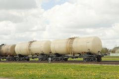 Fuel transportation Stock Photography