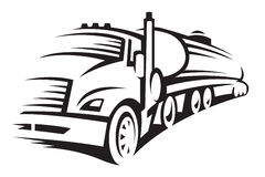 Fuel truck Royalty Free Stock Photography