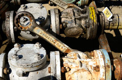 Fuel Valves Royalty Free Stock Image