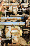 Fuel Valves Royalty Free Stock Images