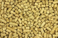 Fuel wood pellets background. Fuel wood pellets abstract background Royalty Free Stock Photos