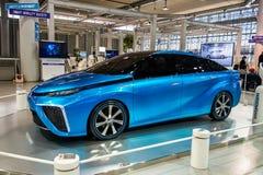 Fuelcell Toyotas Mirai Auto Stockbilder