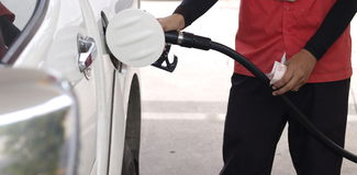 fueling stock afbeelding