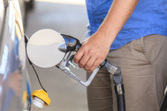 Fueling a car. Stock Image