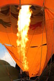 Fuelling Hot Air Balloon Royalty Free Stock Photo